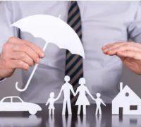 آدمی، چھتری، خاندان، کار